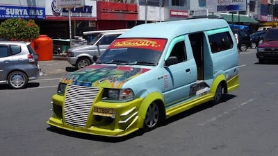 wonderful Vans in Indonesia