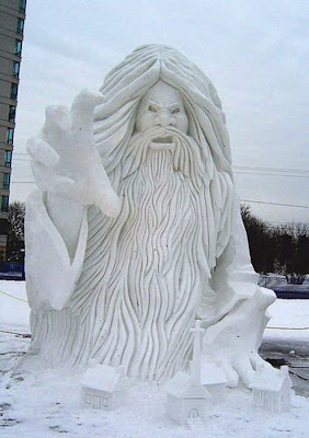 Beautiful Creations in Snow