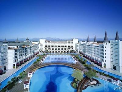 تصاویری از یک هتل بسیار مجلل در آنتالیا واقع در ترکیه