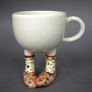 Legged Teapots and Cups