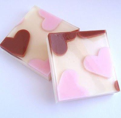creative bath soap