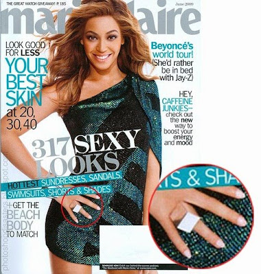 Photoshop mistakes in Expensive Magazines