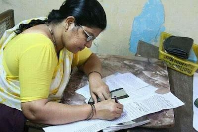 hand written News Paper