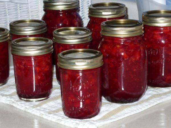 how to make cranberry jam