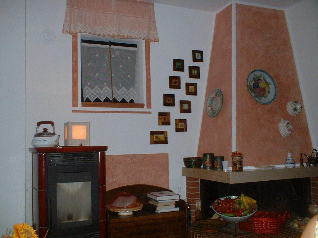 Serena il suo spazio decorare for Cappa camino