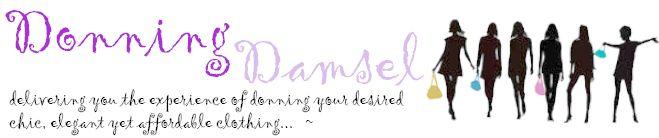 Donning Damsel