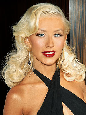 christina aguilera black hair photos. aguilera+weight+gain+2011