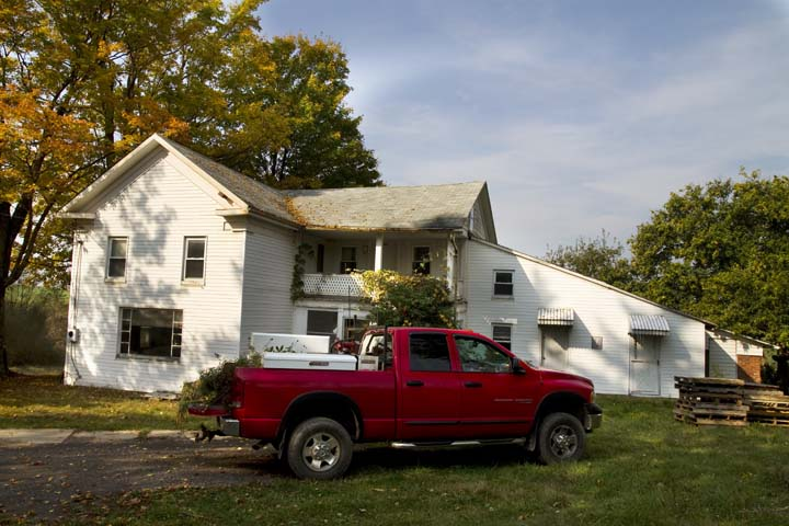 Pennsylvania Wildlife grapher A Historical Landmark Is Gone Burning