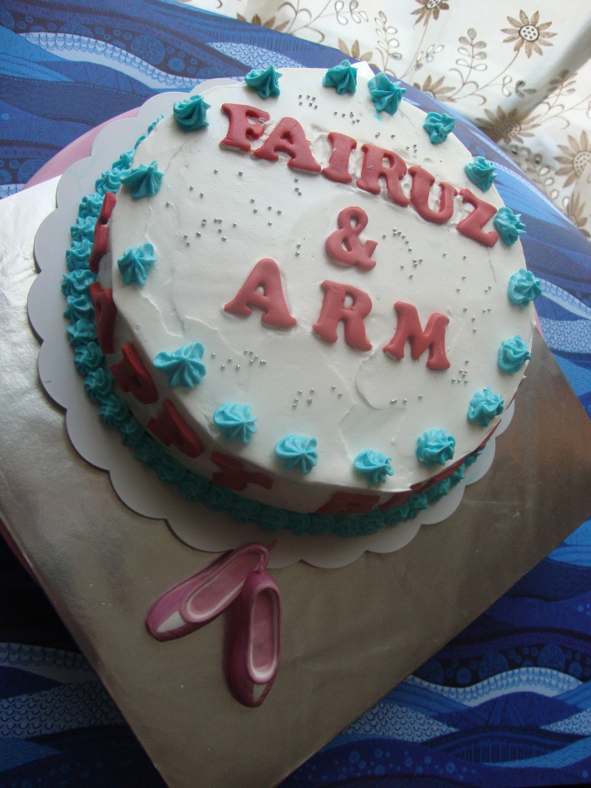 Aidaskitchen Birthday Cake For Fairuz Arm