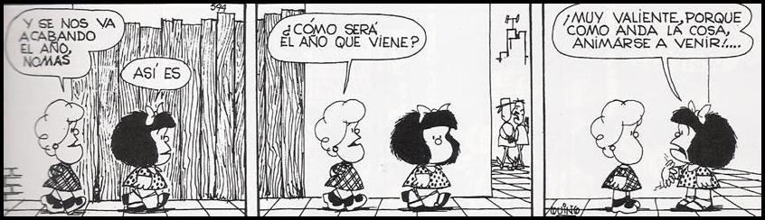 Resultado de imagen para mafalda nuevo año