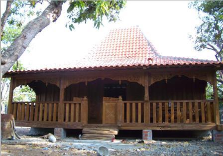 gambar rumah adat indonesia on Rumah Adat Tradisional : Rumah joglo