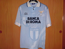 Vtg Jersey Lazio Home 93-95