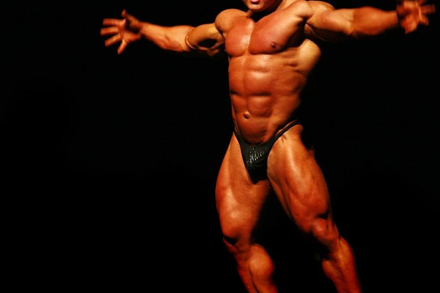 Male and Female Bodybuilders