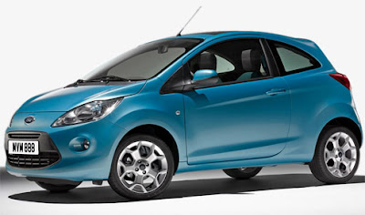 Ford Ka - the first photo