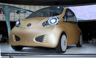 Nissan Nuvu Electric Compact