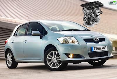 New Toyota Auris 1.33-Liter Dual VVT-i Petrol Engine