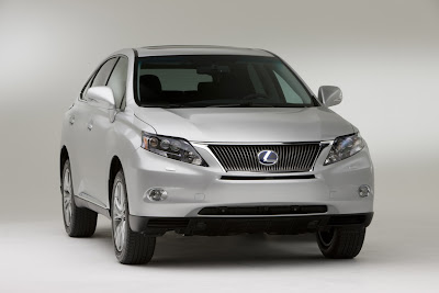 Lexus New 2010 RX450h and RX350 Crossovers