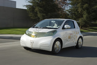Toyota FT-EV Battery-electric Concept