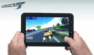 Asphalt 5 Samsung Galaxy Tab Best App