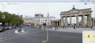 Google Street View German Cities