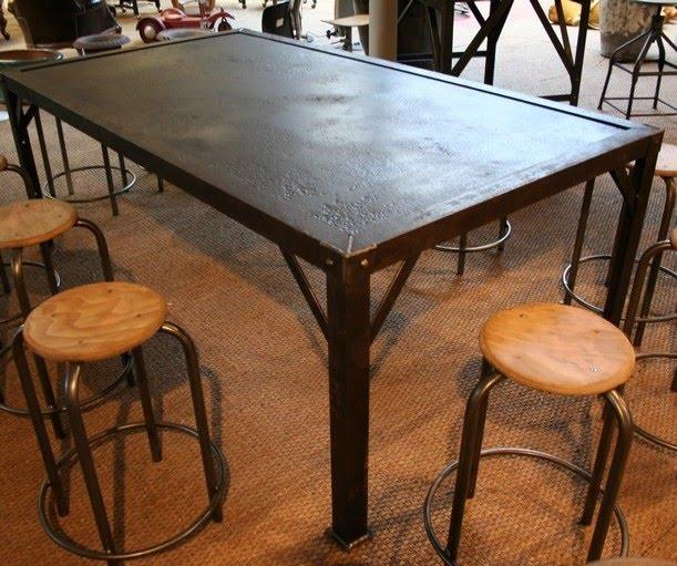 Arrivage de mobilier industriel chez loft boutik le blog - Mobilier industriel bordeaux ...