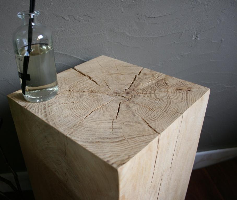 Promotion loftboutik sur les cubes en ch u00eane massif ! Le blog de Loftboutik # Table Basse Cube Bois