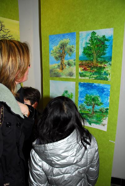 Exposition d'arbres