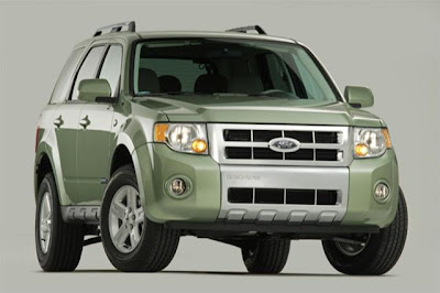 The 2009 Escape Hybrid is a