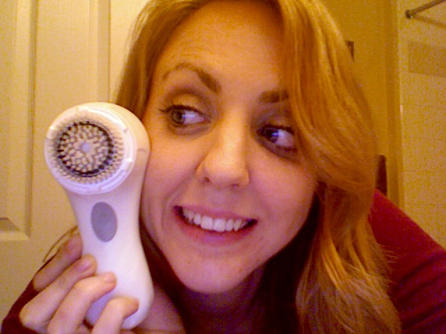 picture of me and Clarisonic Mia