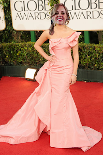 I look better in Lea Michele's Golden Globes dress