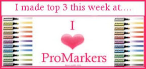Top 3 in I ♥ Promarkers (Popcorn Bear Card)