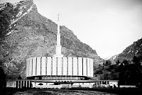 The Provo Temple.
