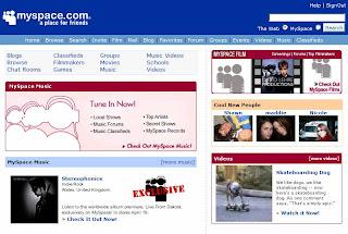 myspace profilo