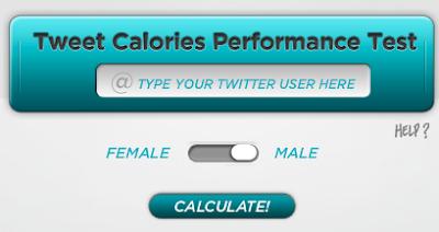 tweet calories