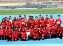A família do Atletismo