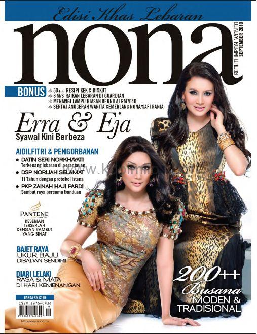 majalah NONA edisi September 2010Kredit buat orang yang kongsi