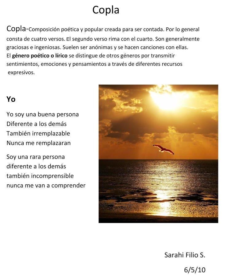 Ejemplos De Coplas De Poesias http://blogdemissmartha.blogspot.com
