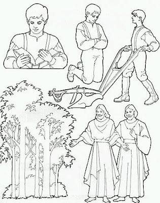 Activity days activity days joseph smith 39 s first vision for Joseph smith first vision coloring page