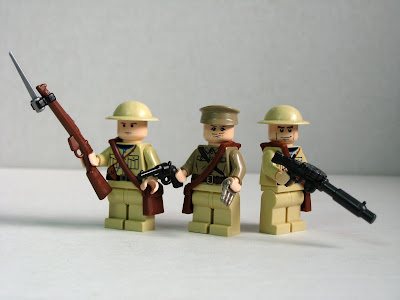 Allied World War I soldiers by Dunechaser from flickr (CC-NC-SA)