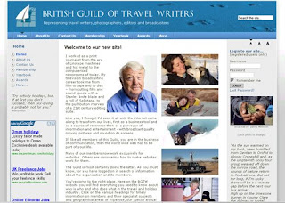 British Guild of Travel Writers website