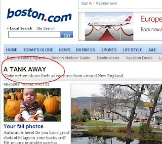 Screenshot from Boston.com