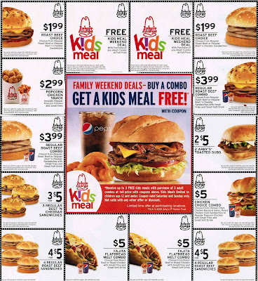 graphic relating to Arbys Coupons Printable called Arbys Discount codes www Arbys com: Printable Arbys Coupon Pattern