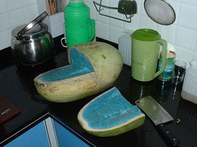 Joshu@L@w's Blog: Wow~ Blue Watermelon!!!