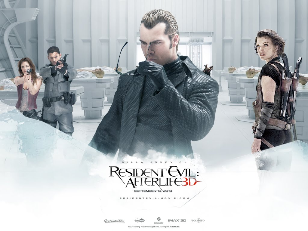 Joshu L ws Blog  Resident Evil  Afterlife