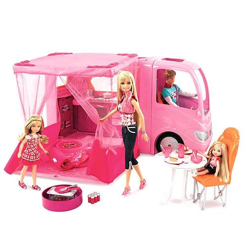 Tommy Toys Bus De Camping Barbie Con Sonidos