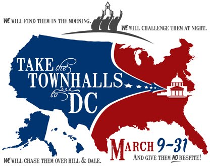 Take the Town Halls to Washington
