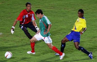 Mexico empata con Ecuador
