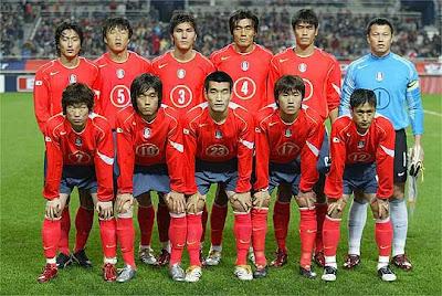 Lista de convocados de Corea del Sur