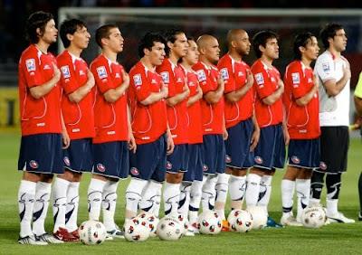 Chile vencio a Zambia