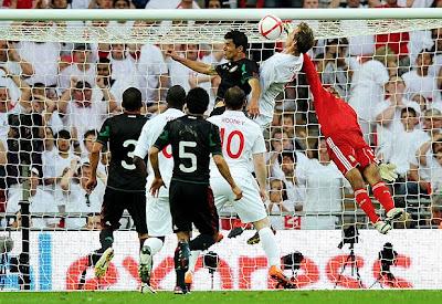 Inglaterra vencio a Mexico